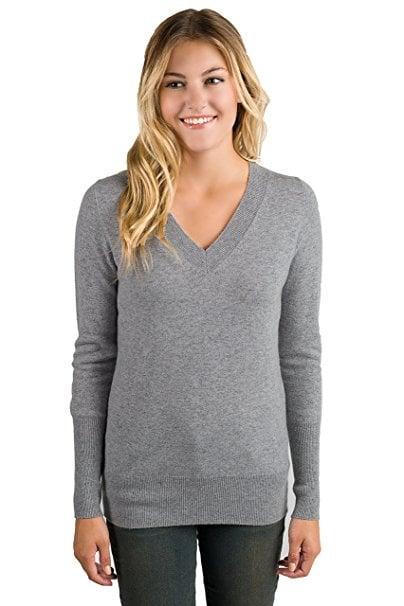 Jennie Liu 100% Pure Cashmere Sweater   Amazon Cashmere   POPSUGAR ...