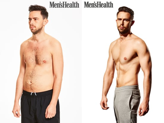 Editors from Men's Health U.K. Tried This Fitness Plan, and It Really Worked