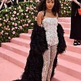 Yara Shahidi at the 2019 Met Gala