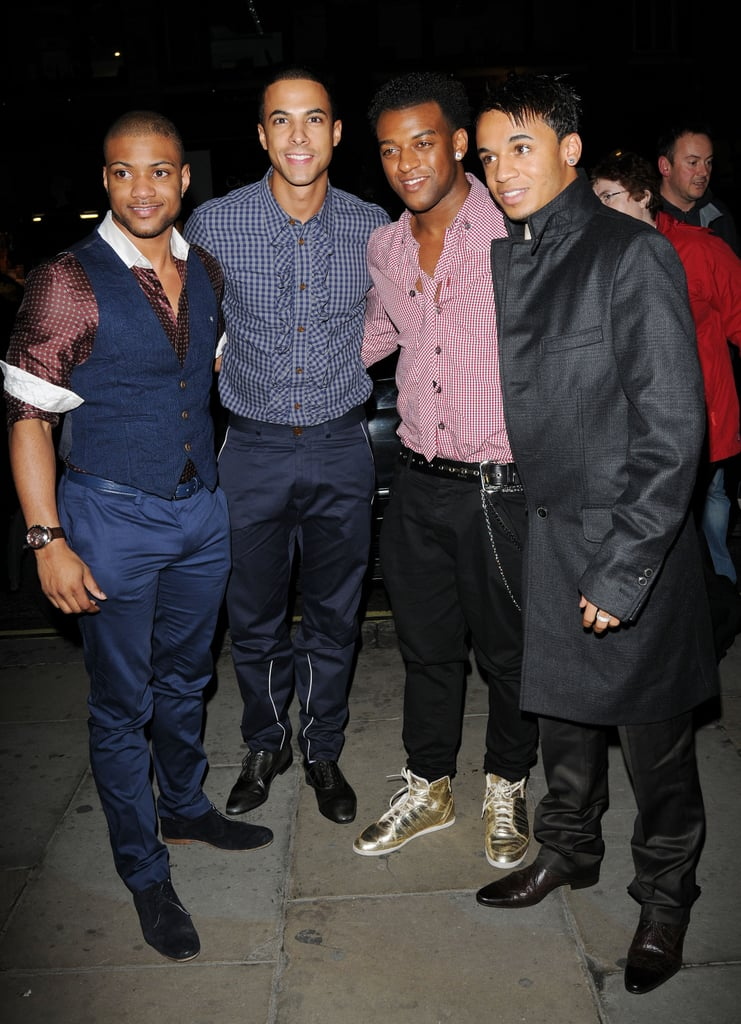 Photos of JLS at Little Voice Preview