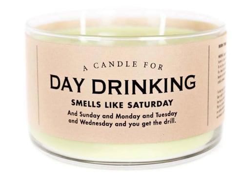 Day Drinking Mojito Scented Candle