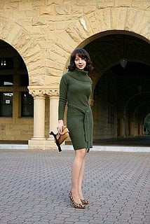 Look of the Day: Great Dress, Great Setting