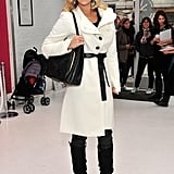 Molly Sims swung by a Piperlime event in NYC.