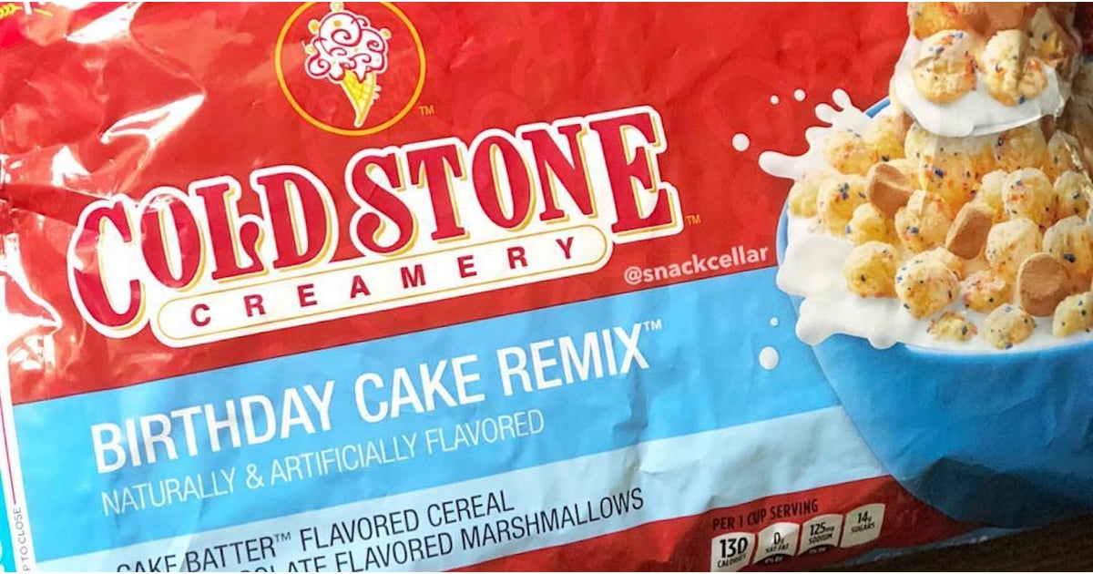 Cold Stone Ice Cream Cereal Popsugar Food