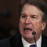 Kavanaugh delivers his opening remarks.