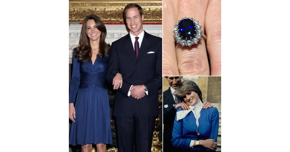 princess dianas engagement ring kate middletons jewelry popsugar fashion photo 3 - Princess Diana Wedding Ring