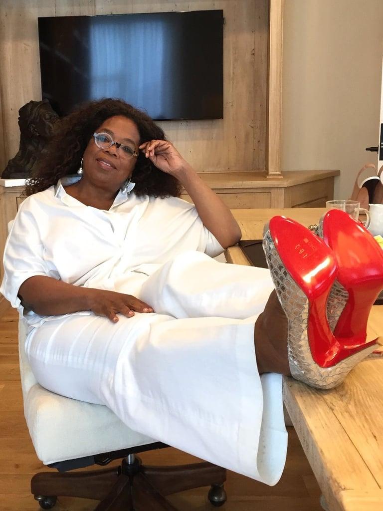 Oprah Louboutin Auction