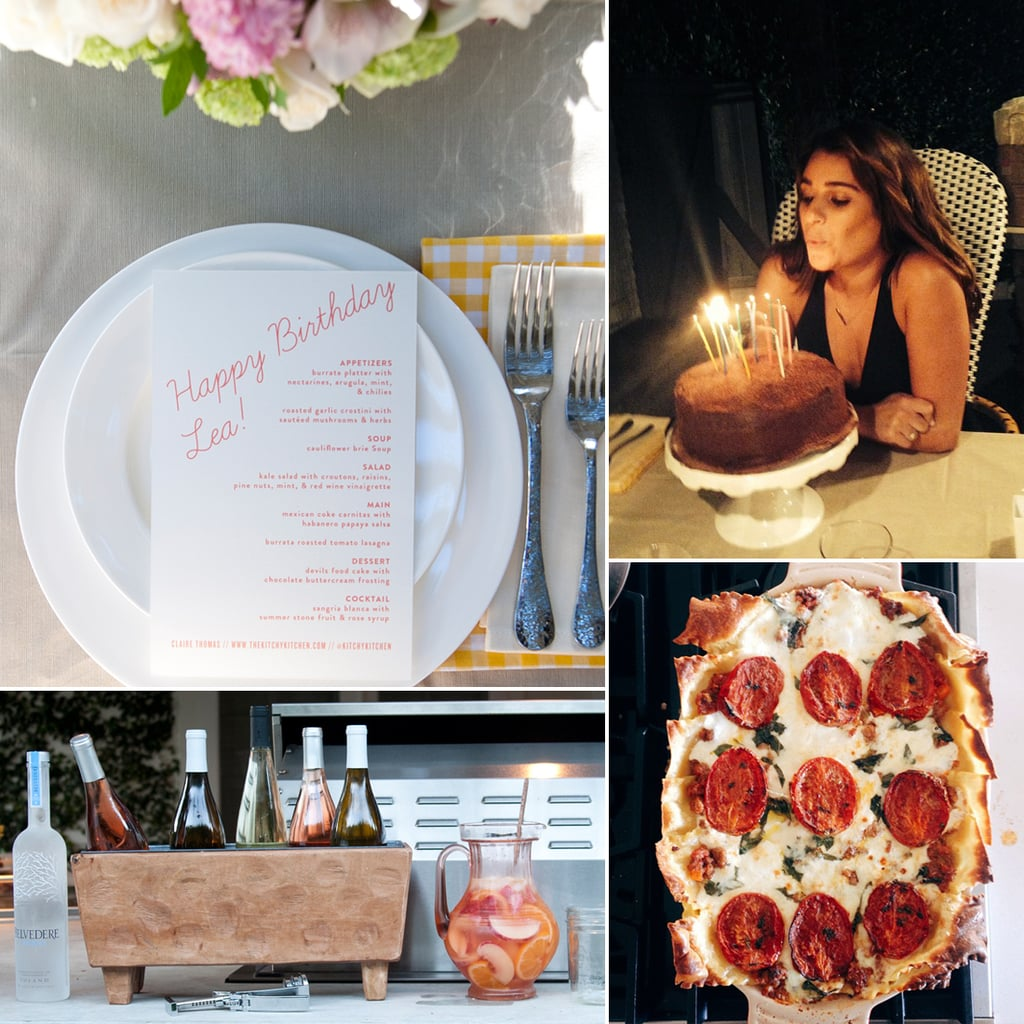 Lea Michele's 28th Birthday Party | Pictures