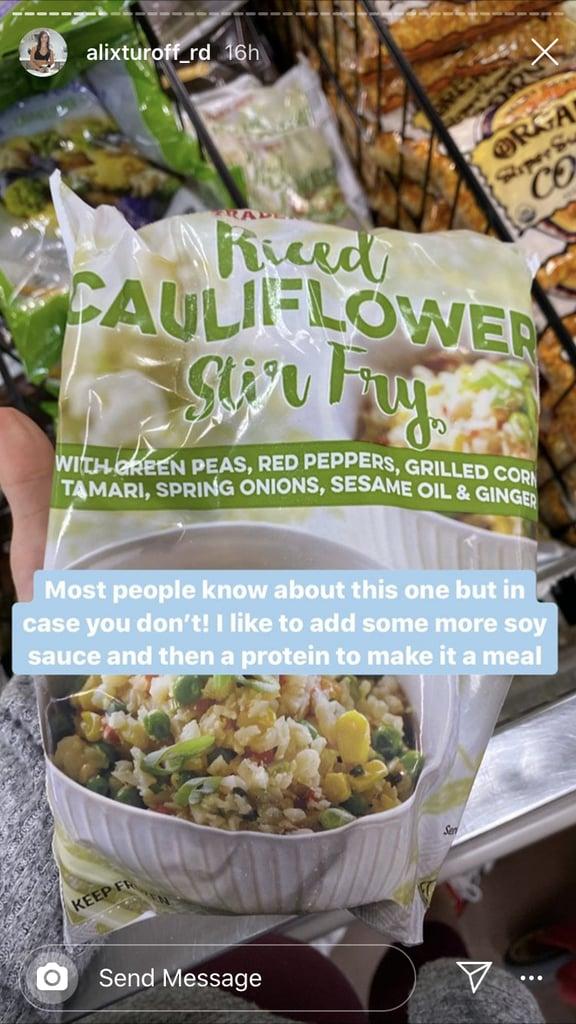 TJ's Riced Cauliflower Stir Fry ($3)