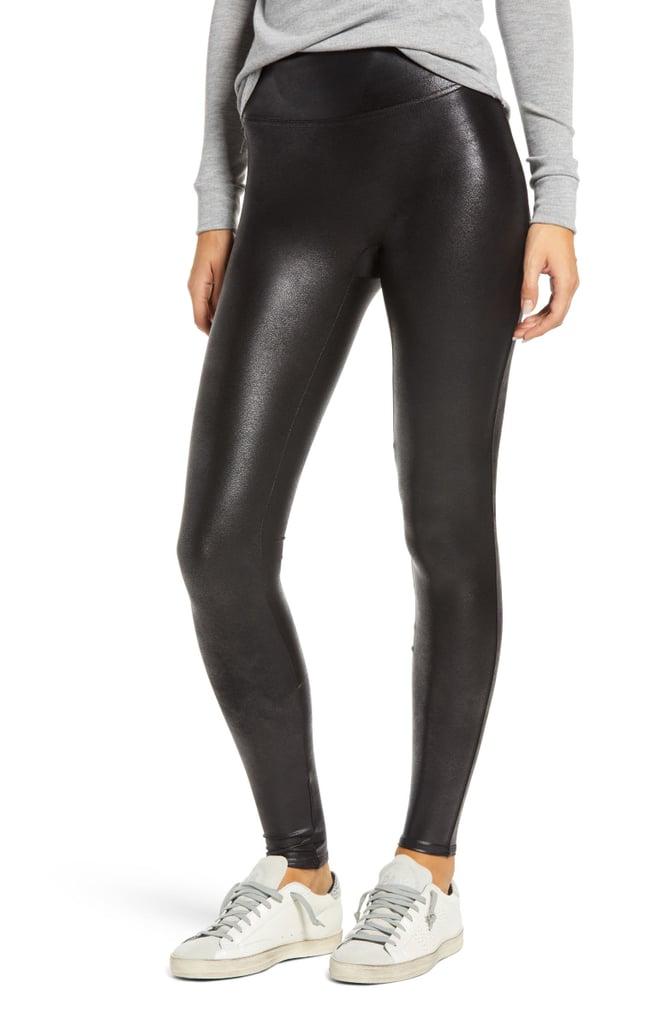 For Wear-Everywhere Leggings: Spanx Faux Leather Leggings