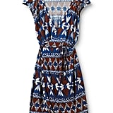 This bold pattern is sure to revive your working wardrobe.  Quiksilver Island Geo Wrap Dress ($36, originally $45)
