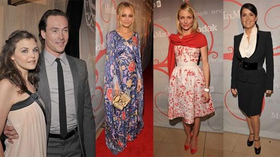 Photos of Cameron Diaz, Nicole Richie, Salma Hayek, Ginnifer Goodwin at the Women in Film Crystal + Lucy Awards