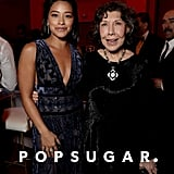 Pictured: Gina Rodriguez and Lily Tomlin