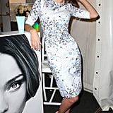 Miranda Kerr posed at a Kora Organics pop up store.
