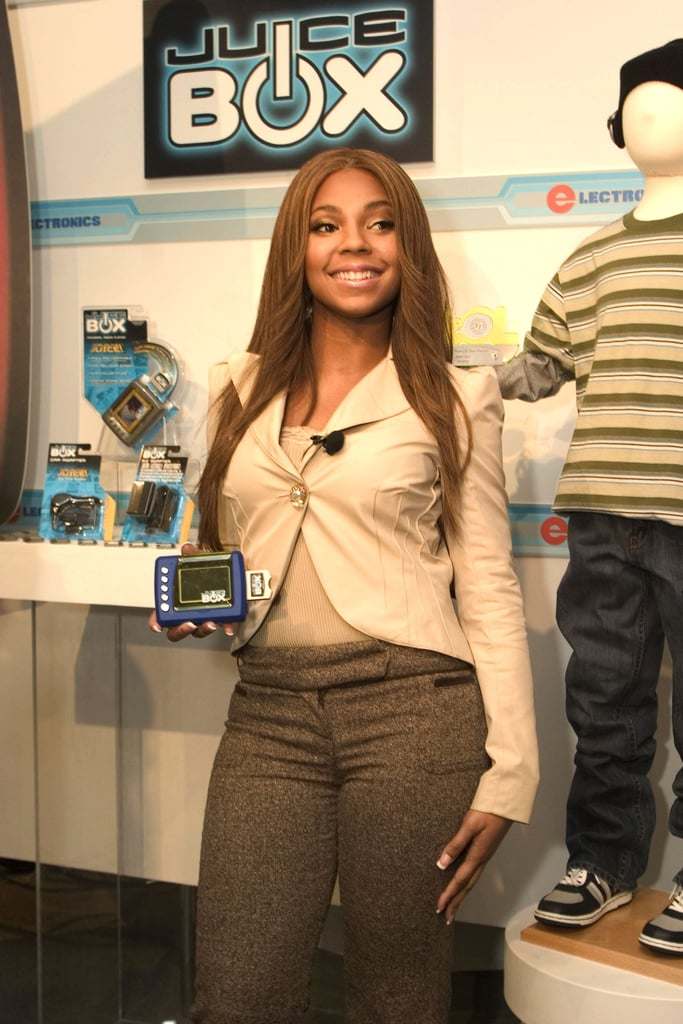 """Princess"" Ashanti probably wrote a secret ballad about the Juice Box MP3 Player she loved so much."