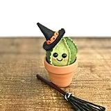 Etsy Halloween Felt Witch Cactus ($14)