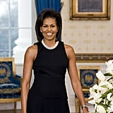 Michelle Obama's First Official Portrait, 2009