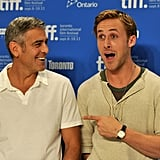 When He's in the Presence of George Clooney. . .