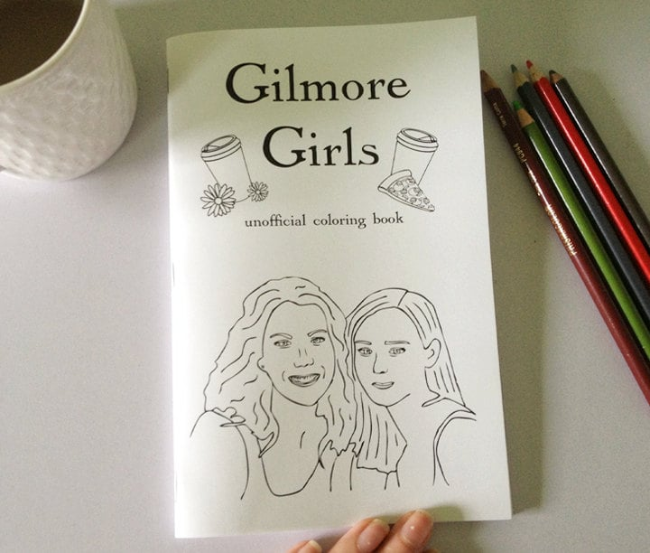 gilmore girls coloring book 7 gilmore girls gifts popsugar
