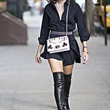 Classic Black With Over-the-Knee Boots