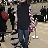 When You Take Off Your Furry Coat, Tote It Around and Work It as an Accessory