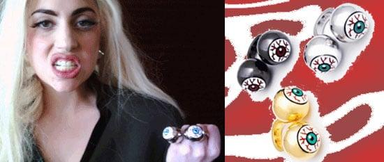 Lady Gaga Ambush Bloodshot Eyeball Ring