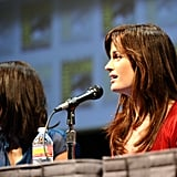 Julia Jones and Elizabeth Reaser