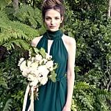 Slytherin-Inspired Bridesmaid Dress