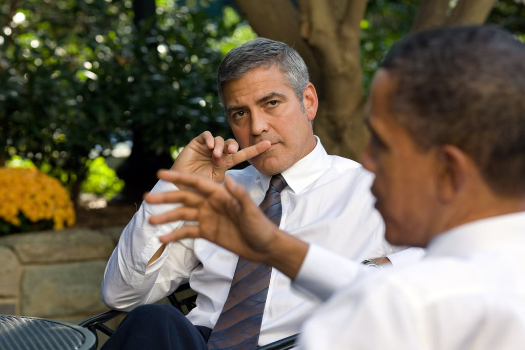 President Obama sat down with George Clooney to talk about Sudan at the White House in October 2010.