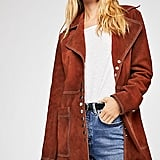 We the Free Retro Snap Suede Jacket