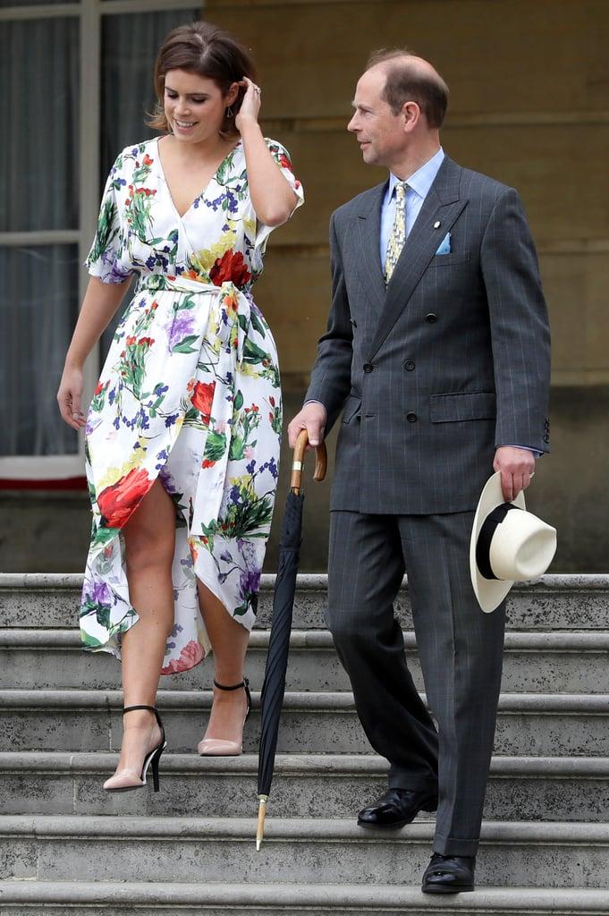 Princess Eugenie's Alice + Olivia Floral Dress