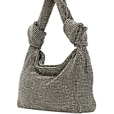 Alexander Wang Rhinestone-Embellished Knotted Tote