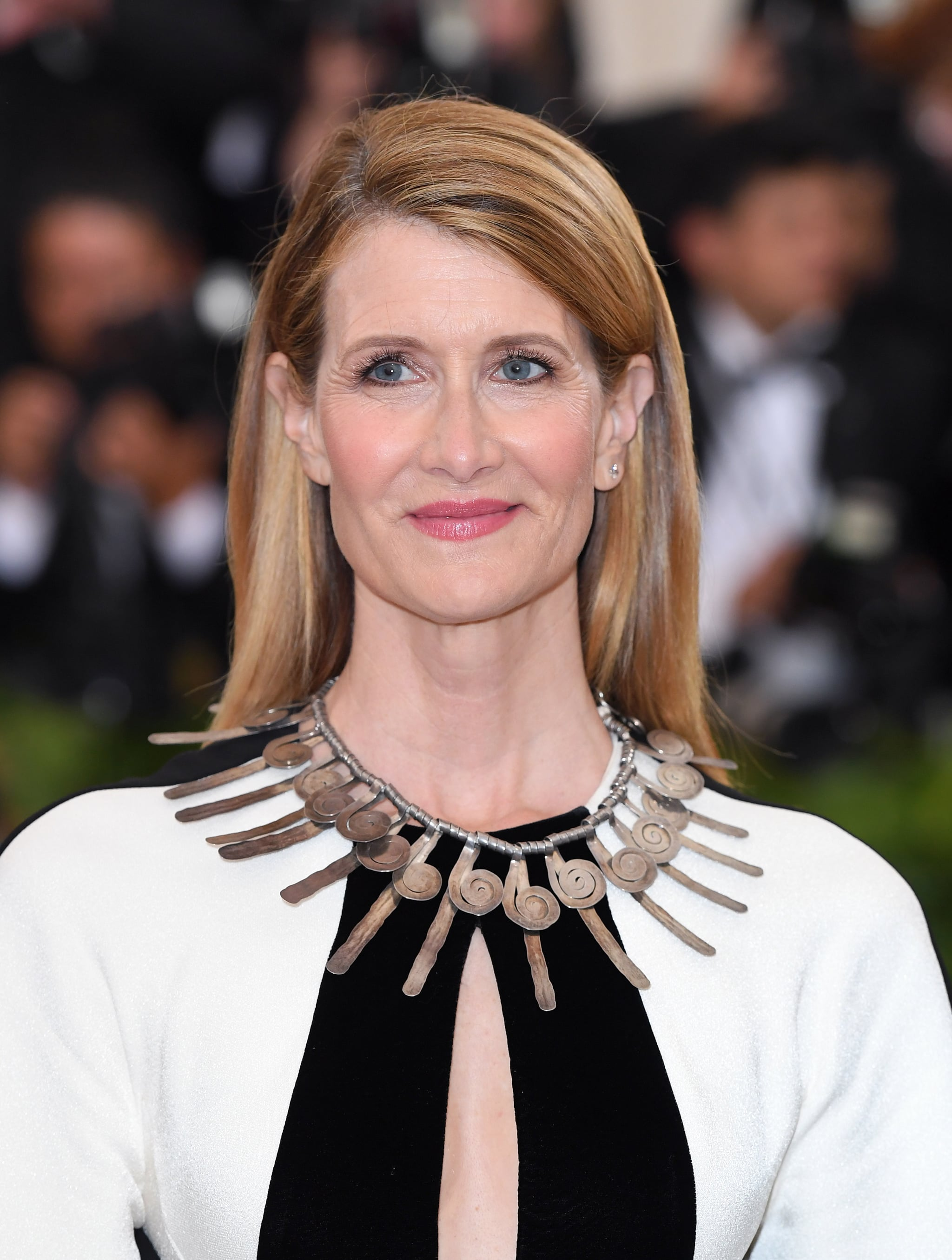 NEW YORK, NY - MAY 07:  Laura Dern attends the Heavenly Bodies: Fashion & The Catholic Imagination Costume Institute Gala at Metropolitan Museum of Art on May 7, 2018 in New York City.  (Photo by Karwai Tang/Getty Images)