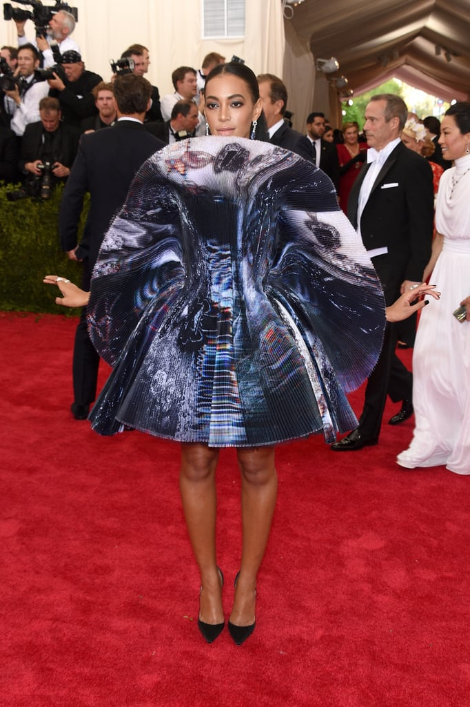Pictures of Solange Knowles 2015 Met Gala Dress