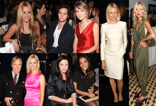Photos of Naomi Watts, Amanda Bynes, Thandie Newton, Jared Leto, Anna Wintour, and Rosario Dawson at NYFW