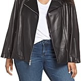 Michael Kors Classic Leather Moto Jacket