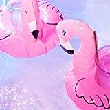 Flamingo Drink Holder Pool Float Set ($8, originally $12)