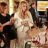 "These little liars have nailed the ""grabbing drinks with the girls"" look."