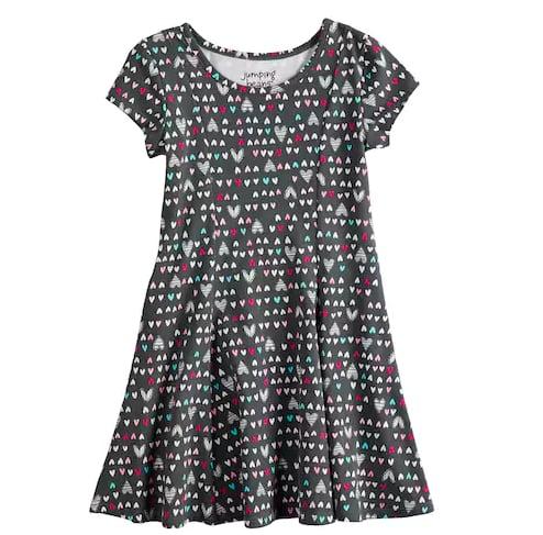 Jumping Beans Printed Dress