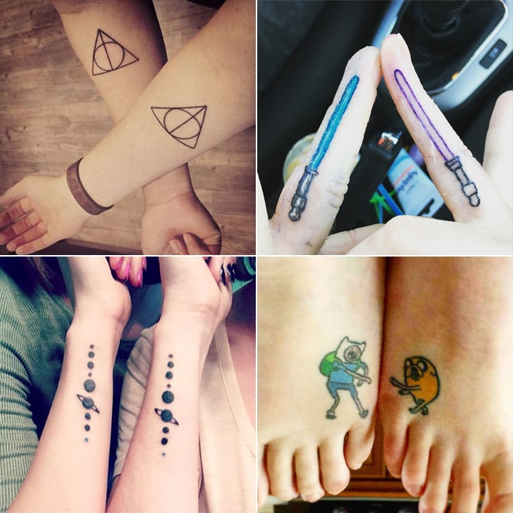 Geeky Best Friend Tattoos | POPSUGAR Australia Tech