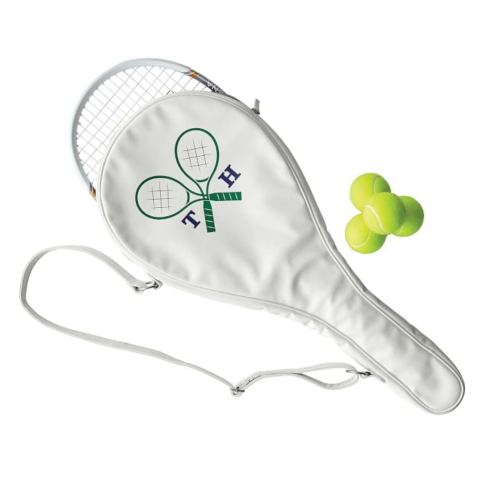 Mark & Graham Colorfield Tennis Racket Holder
