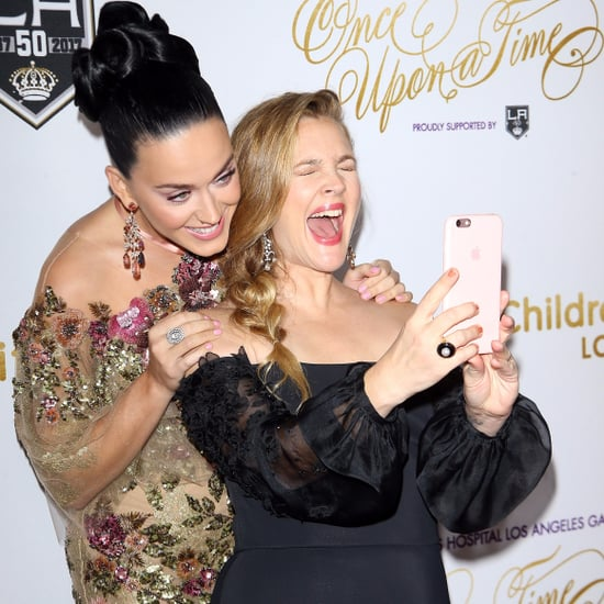 Katy Perry and Drew Barrymore at Children's Hospital Gala
