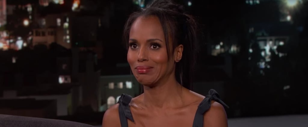 Kerry Washington Talks About the Awkward Moment Her Mom Complimented Her on Her Sex Scene