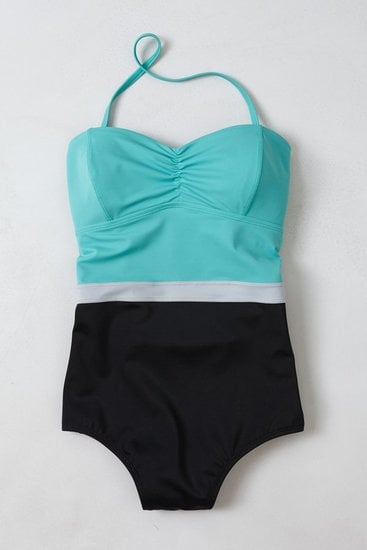 Colorblock is still a huge trend, which is why we recommend this Anthropologie Rodanthe Colorblocked Maillot ($98) for a sleek, on-trend Summer piece.