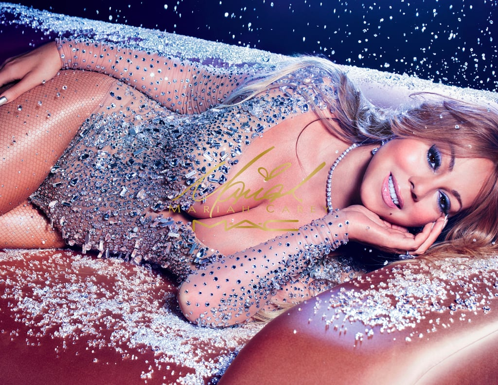 Mariah Carey's Holiday Collection For MAC Has Arrived — and It's Next-Level Amazing