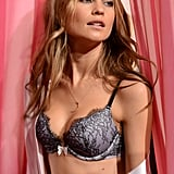 Behati Prinsloo gave us a preview of Victoria's Secret's latest lingerie.