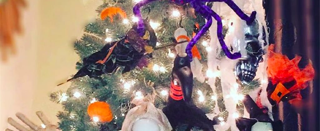 Forget Halloween Wreaths, Halloween Trees Will Be Your New Seasonal Obsession