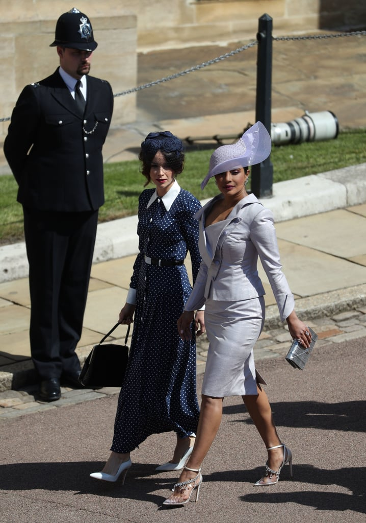 Priyanka Chopra Shoes at Royal Wedding 2018