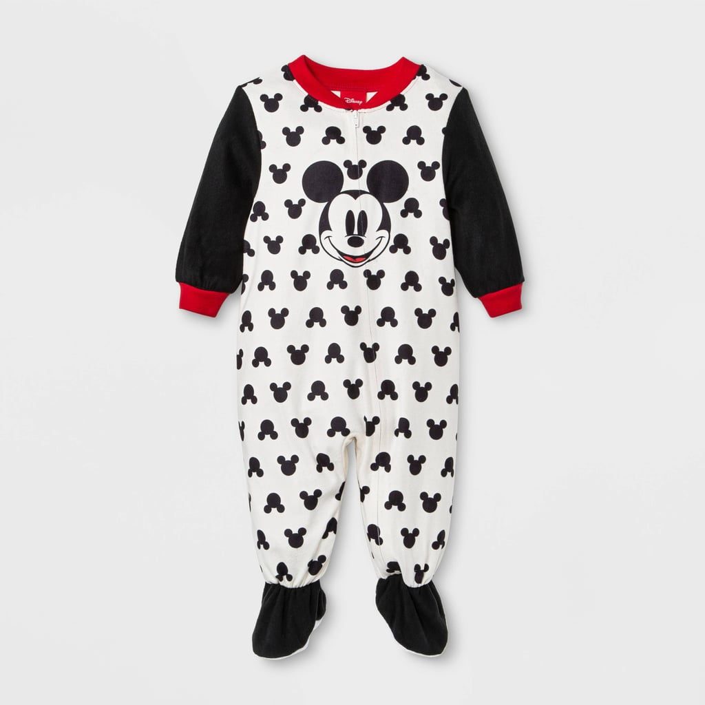 Mickey Mouse Footed Sleeper