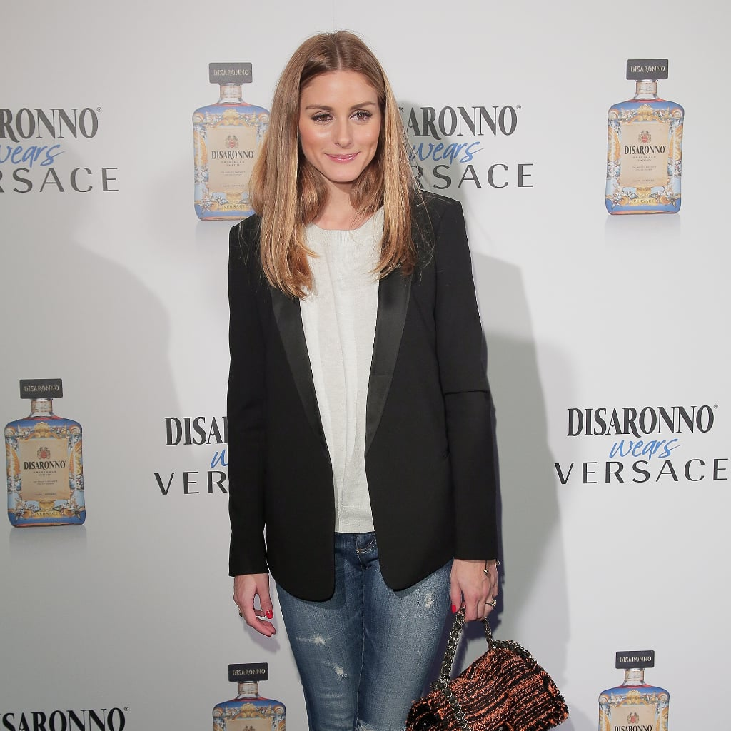 Olivia Palermo Shows Us 2 Solid Ways to Dress Up Our Denim